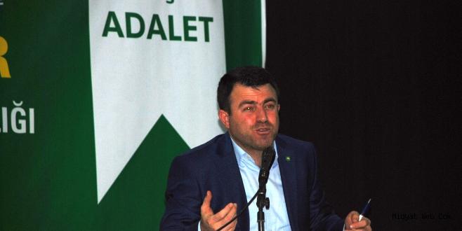 Hüda-Par Genel Sekreteri Mehmet Yavuz Midyat'ta