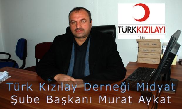 Türk Kızılay Derneği Midyat Şubesi  2014 yılı içerisinde yaptıkları çalışmaları değerlendirdi