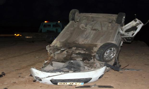 Midyat'ta Meydana Gelen Trafik Kazasında 3 Kişi Öldü 3 Kişi Yaralandı.