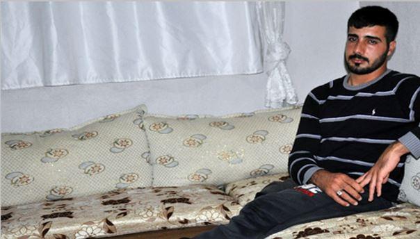 Midyat'ta Doğuştan Ayakları Olmayan Gencin Yardım Feryadı