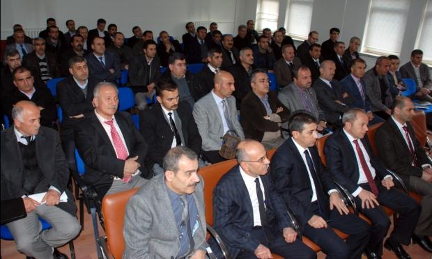 Mardin İl Milli Eğitim Müdürlüğüne Atanan İbrahim Şişman Midyat'ta Veda Etti