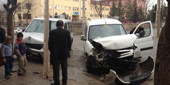 Midyat'ta bir anlık dikkatsizlik kaza ile sonuçlandı