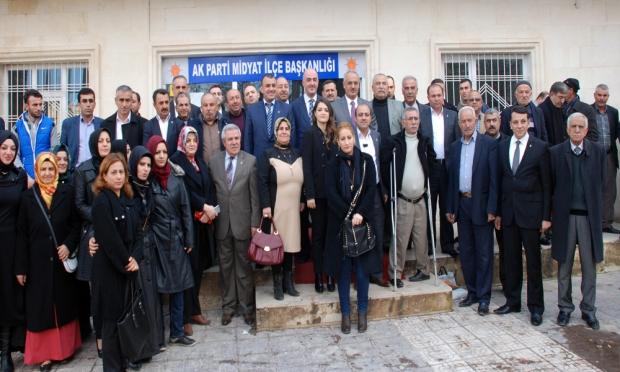 AK Parti Midyat İlçe Danışma Meclisi toplantısı gerçekleştirdi