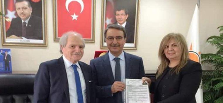 Gürsel Ekmen Miroğlu, Projeleri İle Başvurusunu Yaptı