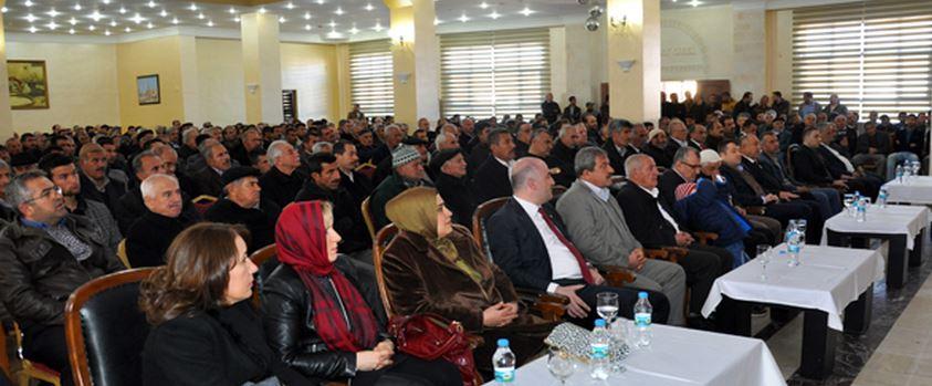 Ak Parti  Milletvekili Aday Adayı Murat Nasıroğlu Midyat'ta İstişare Toplantısı Düzenledi