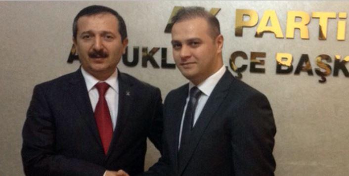 Dr. Mehmet Baş Ak Parti Artuklu İlçe Teşkilatını Ziyaret Etti