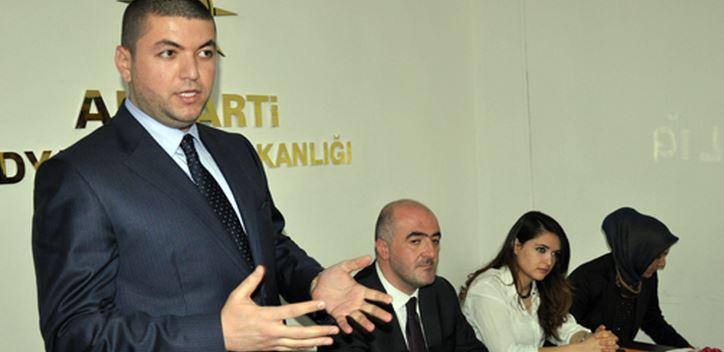Bilal İleri AK Parti Mardin Milletvekili aday adayı Oldu
