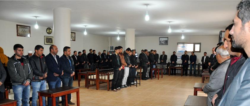 Midyat'ta Çanakkale Şehitleri Ve Çözüm Süreci İçin Mevlit Okuttular