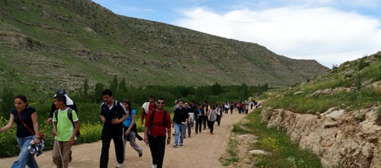 Midyat Karasu Vadisi Doğa Yürüyüşü Etkinliği Düzenlendi