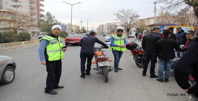 Midyat'ta Trafik Denetimleri Arttı