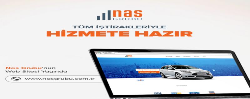 NAS Grubu Web Sitesi Yayında