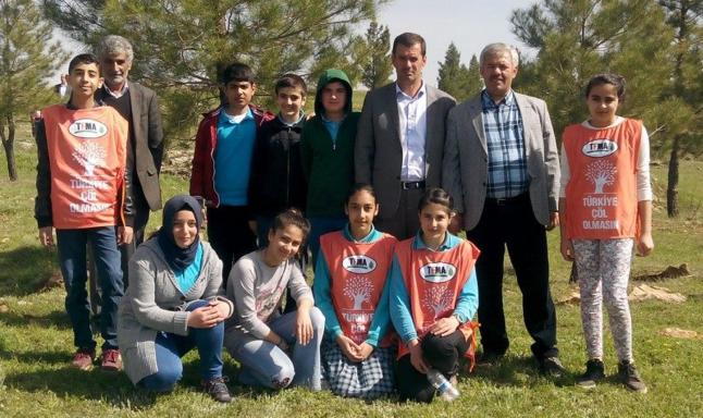 Midyat Çevre Gönüllüleri Bin 100 Ağaç Dikti