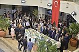 Bayramlaşma programına Süryani vatandaşlar da katıldı