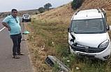 Şanlıurfa'da hafif ticari araç devrildi: 7 yaralı