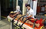 Siirt'te işçiler vinçten düştü: 1 ölü, 1 yaralı
