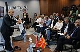 Türk Ekonomi Gazetecileri Makedonya'da