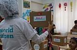 TRT World çalışanları yetim çocukları sevindirdi