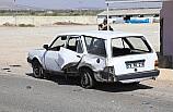 Kilis'te otomobille çarpışan zırhlı polis aracı devrildi: 2 yaralı