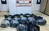 Diyarbakır'da 164 kilo 400 gram esrar ele geçirildi