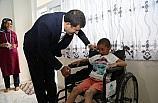 Eyyübiye Belediyesi hasta çocuğa el uzattı