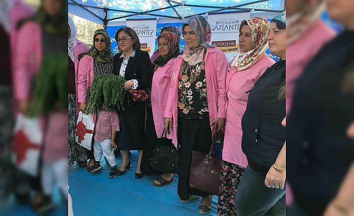 Gaziantep'te çiftçiye hububat tohumu dağıtıldı