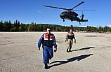 Gaziantep'te helikopterli trafik uygulaması