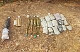 Şırnak'ta teröristlere ait silah ve mühimmat bulundu