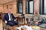 2. Ordu Komutanı Orgeneral Temel'den Gaziantep Valisi Gül'e ziyaret