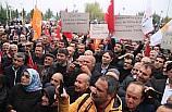 Adıyaman Belediye Başkan Adayı Kılınç'ı vatandaşlar karşıladı