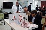 Adıyaman'da jandarma ekiplerinden kan bağışı