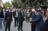 Batman Valisi Hulusi Şahin'in ziyaretleri