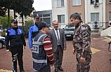 Down sendromlu gencin polis olma hayali gerçekleşti