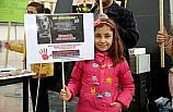 Kilis'te hayvanlara işkence protestosu