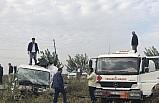 Şanlıurfa'da yakıt tankeri ile işçi minibüsü çarpıştı: 8 yaralı