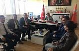 TES Gaziantep il Başkanı Avan'ın ziyareti