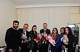 Vali Gül'den beşiz bebeklerin ailesine