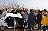 Şanlıurfa'da iki otomobil çarpıştı: 11 yaralı