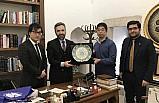 Japon araştırmacı Doç. Dr. Moriyama Teruaki, MEDİT'te