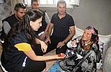 90 yaşındaki kadını darbedip altınlarını gasbeden 2 zanlı tutuklandı