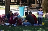 Şanlıurfa'da sıcak hava etkisini sürdürüyor