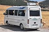 Yolcu minibüsüne ev tipi klima taktı