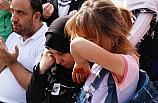 Akçakale'de şehit olan Muhammed bebek ve Cihan Güneş için tören