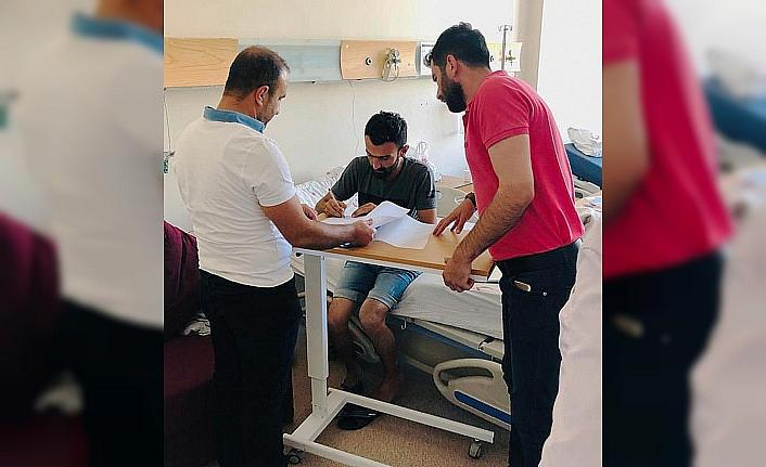 Dicle Elektrik'ten hastanede abonelik hizmeti