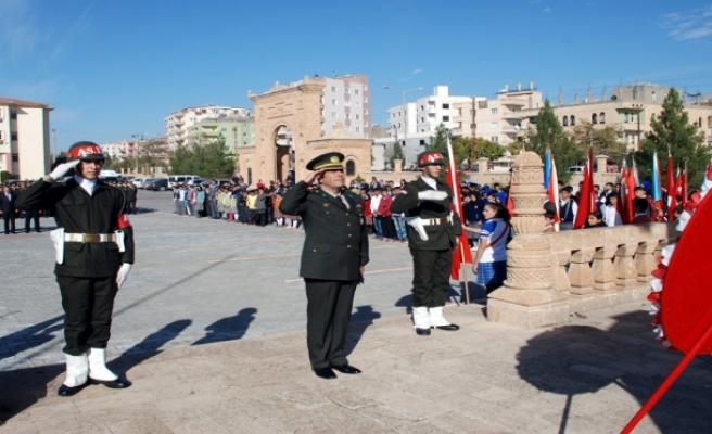 Midyat'ta 10 Kasım Atatürk'ü Anma Töreni Yapıldı