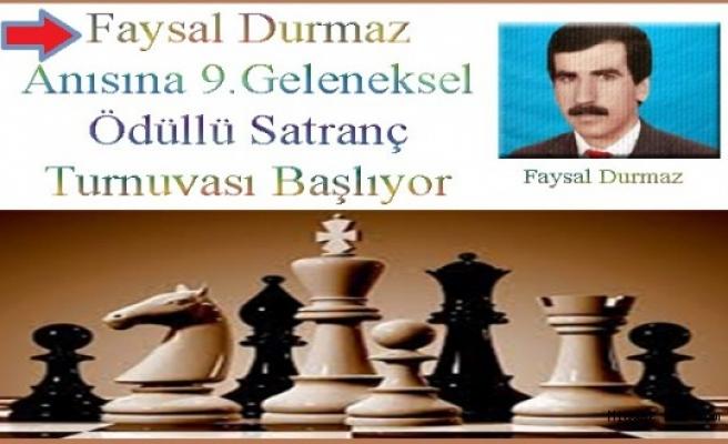 Midyat 9.Geleneksel Ödüllü Satranç Turnuvası Başlıyor