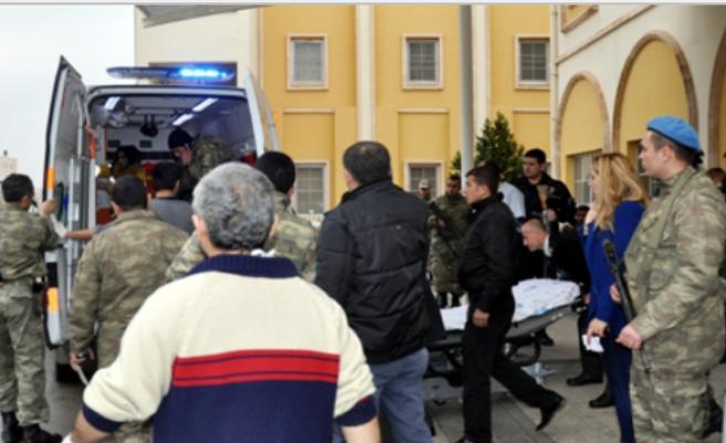 Midyat'a Yakın Bagok Dağı 'nda Zırhlı Araç Mayına Çarptı