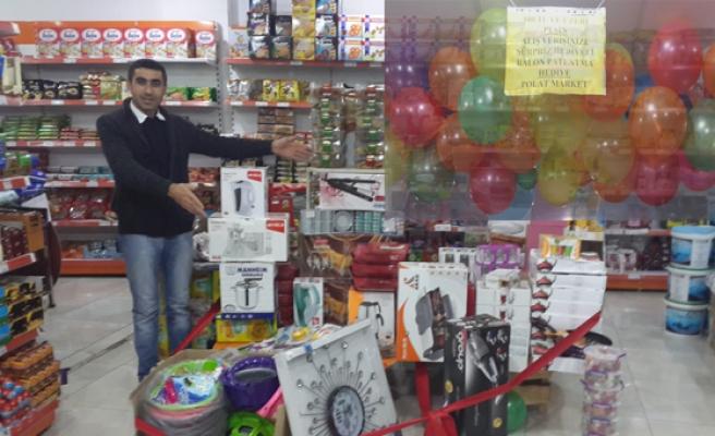 Midyat Polat Market'ten Yılbaşı Çekilişi