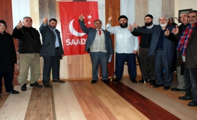 Midyat Saadet Partisi Pendik İlçe Örgütü İle Bir Araya Geldi