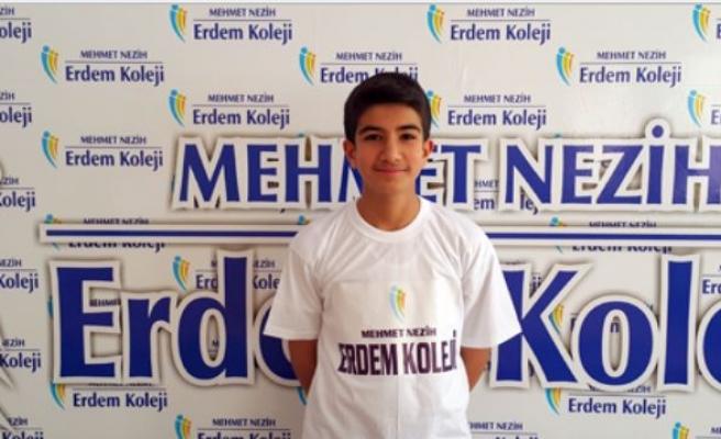 Midyat Erdem Kolejinden Türkiye Birincisi