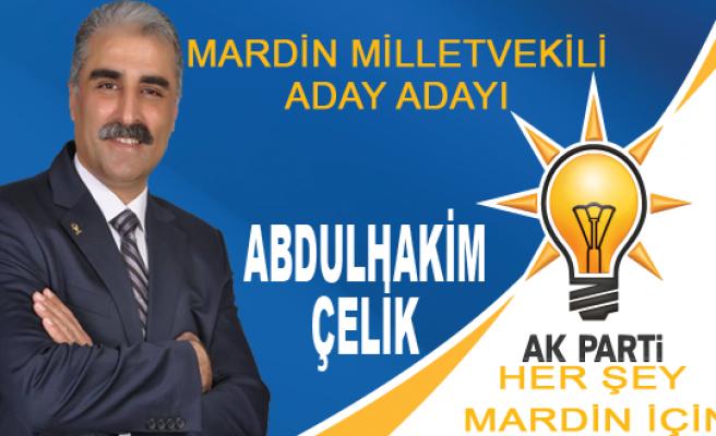 Abdulhakim ÇELİK - Ak Parti Mardin Milletvekili Aday Adayı